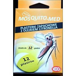 PLASTRY ZAPACHOWE MOSQUITO-MED KOMAR (A12)