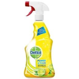 DETTOL SPRAY POWER&FRESH CITRUS 500ML