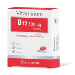 VITAMINUM B12 STRONG 0,5MG 30 TABL. - STARPHARMA